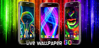 free neon live wallpaper android