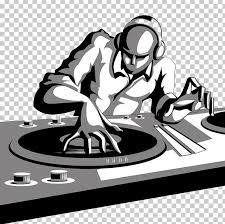 dj mixer cartoon png clipart black