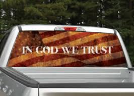 Jesus Christ The Lord I Love Jesus Ver 1 Rear Window Graphic Decal Truck Suv