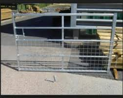 Half Mesh Galvanized Faild Gate Portable Livestock Fence Panels For Farm For Sale Cattle Corral Panels Manufacturer From China 109045973