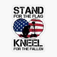 Car Truck Decals Emblems License Frames Stand For The Flag Kneel For The Fallen Sticker Decal Anti Nfl America Miilitary Stalden Com Br