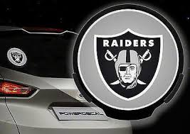 Oakland Raiders Nfl Logo Powerdecal Motion Sensing Auto Decal W Free Shipping 1058685738