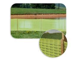 High Visibility Barrier Fencing Orange Green Silt Fences Silt Saver