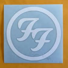 Foo Fighters Band Vinyl Decal Sticker 5x5 Etsy