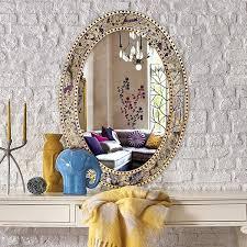 mirror with mosaic frame wayfair
