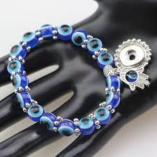 whole evil eye beads 12mm snap