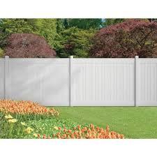 Veranda 5 In X 5 In X 9 Ft White Vinyl Pro Fence Line Post 245314 The Home Depot