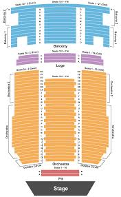 paramount theatre seating chart maps