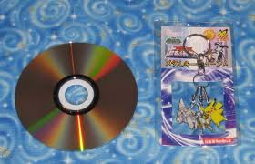 Pokemon Movie 12 Arceus Pikachu and Palkia Fob Mascot Keychain New USA  Seller