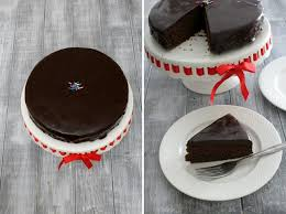 eggless chocolate cake with condensed