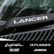 2020 Ar Stickers Car Vinyl Window Wiper Decor Stickers For Mitsubishi Lancer 10 3 9 Ex Outlander 3 Asx L200 Ralliart Competition Accessor From Lkmwdkawx 4 34 Dhgate Com