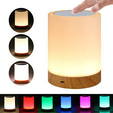 Royfacc Table Lamp Touch Sensor Lamp Bedside Led Night Light For Kids Bedroom For Sale Online Ebay