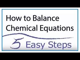 how to balance chemical equations in 5