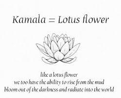 kamala flower tattoo meanings