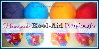 homemade kool aid playdough