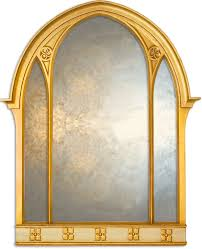 large overmantle mirror gold