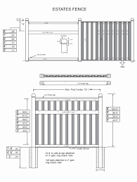 Board On Board With Trim Rails Privacy Fence Fence Deck Supply