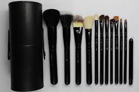 m a c 12 piece makeup brush set and 50