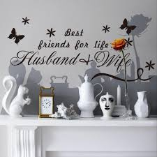 Best Friends For Life Husband Wife Quotes Wall Decals Black Butterflies Stickers For Living Room Bedroom Decor Kitchen Wall Decals Kitchen Wall Decor Stickers From Flylife 4 03 Dhgate Com