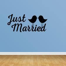 Just Married Car Window Decal Wedding Sticker Home Decor Pc381 Walmart Com Walmart Com