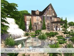 rustic modern big house by sarina sims