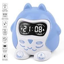 Amazon Com Time To Wake Kids Room Alarm Clock White Noise Machine Teens Sleep Trainer With 9 Sooth White Noise Machine White Noise Machine Sleep Kids Sleep