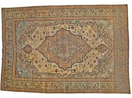 living with vine and antique carpets