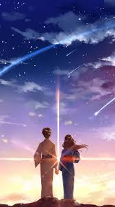 Your Name | Hình nền, Sao băng, Bầu trời