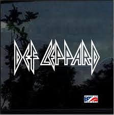 Def Leppard Band Stickers Custom Sticker Shop