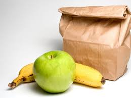 Image result for image of lunch bag pickup