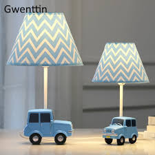 Cartoon Car Table Lamp For Children S Room Boy Kids Bedroom Modern Desk Lamp Led Stand Light Fixtures Study Luminaire Home Decor Led Table Lamps Aliexpress