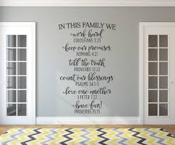 In This Family Family Wall Decals
