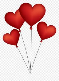 love heart balloon png clipart 929894