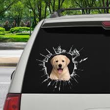 Get In It S Time For Shopping Labrador Car Sticker V2 Follus Com