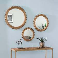 3 piece mirror set wayfair