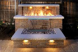 custom outdoor kitchens fireplaces