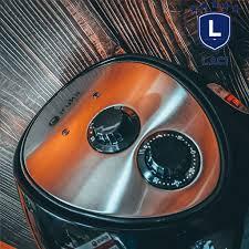 Nồi chiên không dầu Iruka Japan I68 Dung Tích 4.5L chất liệu nhựa PP cao  cấp chịu nhiệt không chứa tạp chất