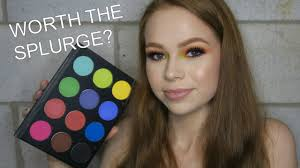ofra bright addictions palette review