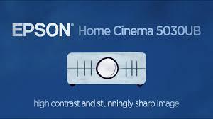 epson home cinema 5030ub take the