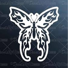 Get The Coolest Tribal Butterfly Car Decals