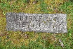 Petra Thompson Field (1878-1944) - Find A Grave Memorial