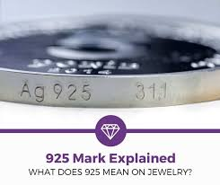 what does 925 mean on jewelry