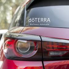 Dōterra Wellness Advocate Vinyl Signs Essential Oil Car Decals