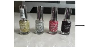 new launch lakme color crush nail art