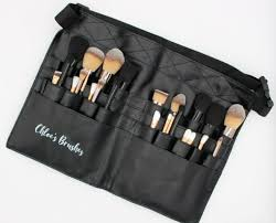 mac pro makeup tool belt brushes holder