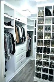 enchanting walk in closet organizers