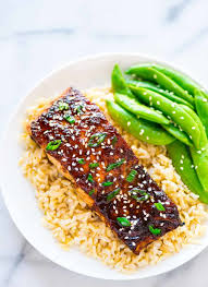 Soy Ginger Salmon (Fast and Healthy)