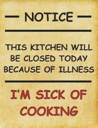 Image result for kitchen closed sign image