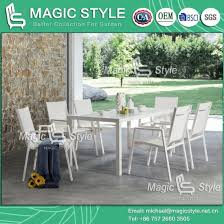 china outdoor textile dining set with