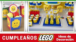 Cumpleanos Lego Ideas De Decoracion Youtube